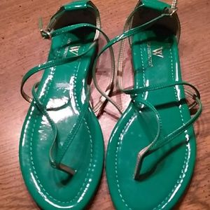 Worthington green sandals 7m